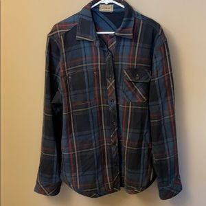Jeremiah Vintage workwear reversible plaid…